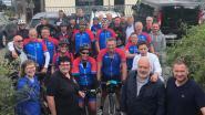 Glabbeek fietst naar zustergemeente Middelkerke ten voordele van Kom Op Tegen Kanker
