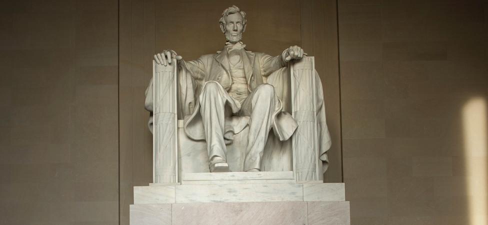 Hoe Abraham Lincoln in een eenduidig, moreel frame geplaatst wordt