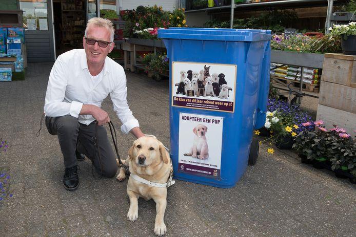 Willem Groot Zwaaftink heeft zo'n sterke band met zijn blindengeleidehond June dat hij haar heeft opgenomen in zijn testament.