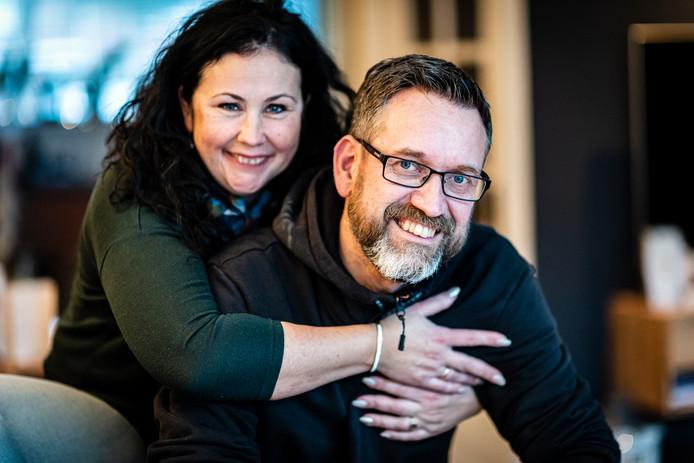 Sander en Yolanda Maliepaard zijn na jaren samenwonen toch getrouwd.