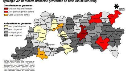 Veel zwak uitgeruste gemeenten in het Hageland