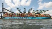 Record voor Antwerpse haven: containerschip met 8.429 containers gelost