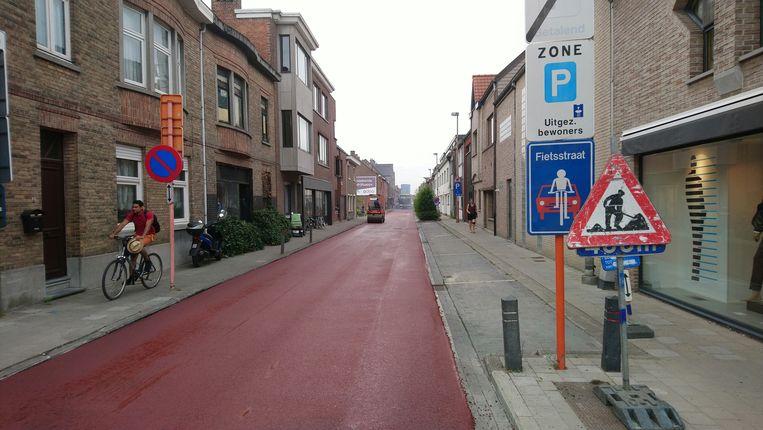 De Gasmeterstraat in Sint-Niklaas.