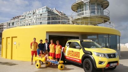 Strand van Knokke extra toegankelijk voor minder mobiele badgasten dankzij nieuwe 'strandjutter'