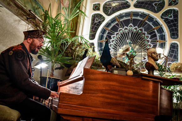 Pawel Wojtasiewicz  gaf een prachtconcert in een uniek kader.