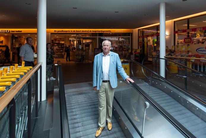 Gerard van den Tweel kocht donderdag het winkelcentrum Oosterpoort terug van Aprisco.