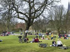 Uitgeprocedeerde asielzoekers naar Vondelpark