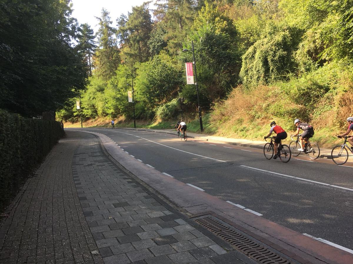 Tour der ongeschoren benen bereikt Cauberg