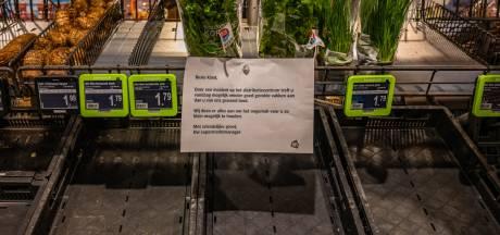 Lege schappen kunnen Albert Heijn kwart van omzet kosten: 'Klanten gaan al snel naar concurrent'
