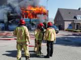 Grote brand verwoest volledige pand Lealti Geveltechniek in Middelbeers