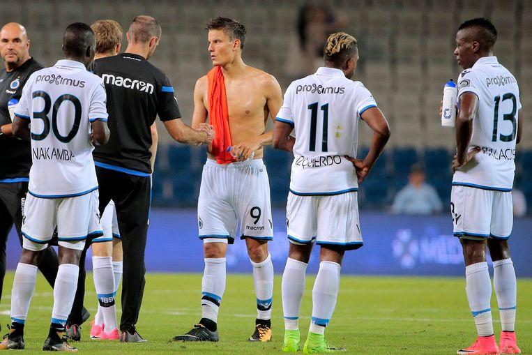 Jelle Vossen en co treuren: voor Club is er dit seizoen geen Europees voetbal weggelegd.