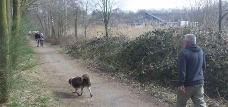 Smalle paden nekken Bomenparkloop Heesch