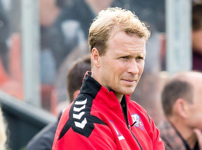 Rick Kruys is nog vijf jaar te bewonderen als assistent-trainer van FC Utrecht.