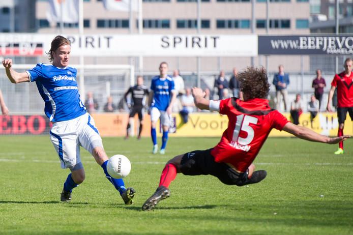 GVVV-speler Martin van Eck , hier op archiefbeeld,  verloor met zijn ploeg ook van Jong Sparta.