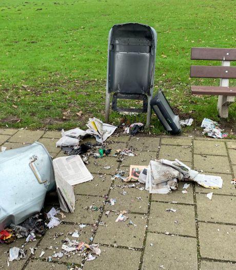 Toch nog 56.000 euro aan schade door vuurwerk tijdens jaarwisseling in Eindhoven