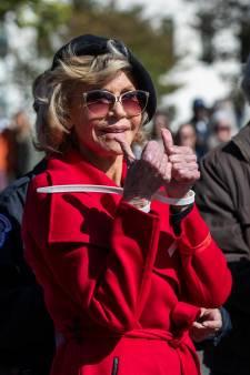 Jane Fonda à nouveau arrêtée lors d'une manifestation