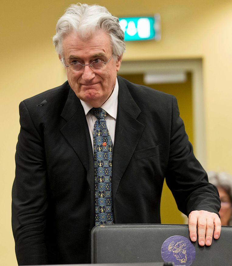 Radovan Karadzic. Beeld REUTERS