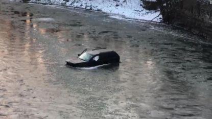 """Gael (18) kon nog maar één ding proberen toen hij met wagen in ijskoude rivier belandde: """"Siri, bel 911"""""""
