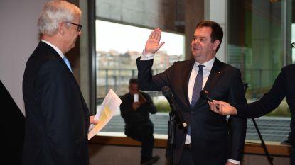 Steven Swiggers legt eed af als burgemeester