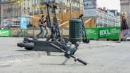 Twee mannen opgepakt met bestelwagen vol gestolen steps