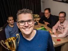 Jaco Moelker houdt voorronde van NK Risk: 'een spel van geluk en strategie'