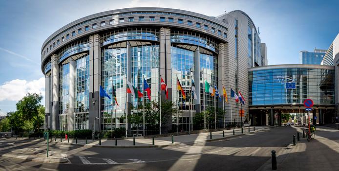 Het Europees Parlement in Brussel.