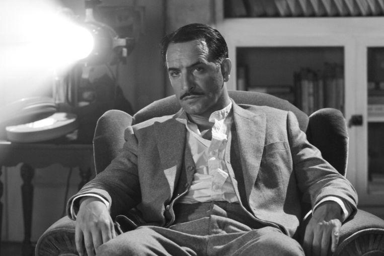 Jean Dujardin als George Valentin in The Artist. © AP Beeld