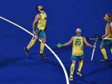 Australische hockeyers eenvoudig naar brons