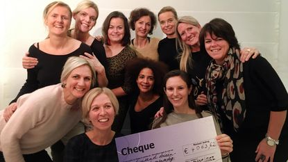 Funfabriek krijgt cheque van meer dan 4.000 euro