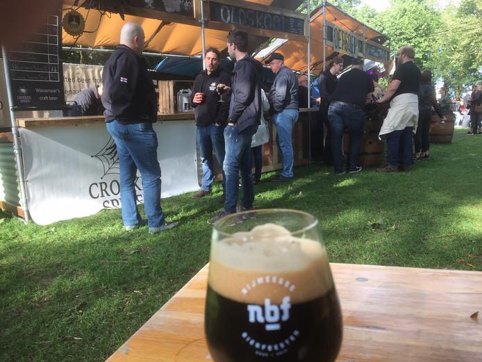 In Nijmegen kon gewoon een biertje gedronken worden tijdens het driedaagse bierfestival