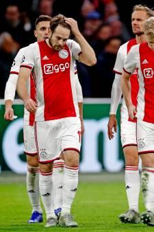Ajax kent rampzalige avond en verlaat Champions League na nederlaag