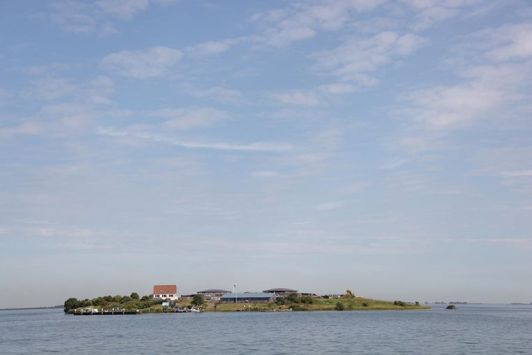 Ook met je eigen bootje kun je naar Pampus afvaren Beeld Defence Line Amsterdam via Fickr.com