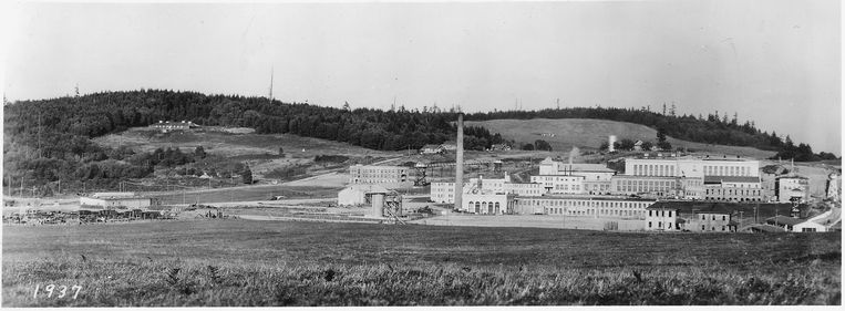 Het McNeil Island Corrections Center in 1937.