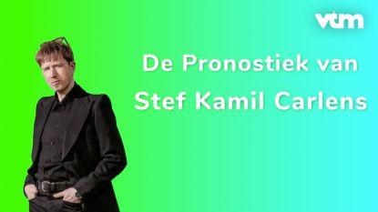 Stef Kamil Carlens probeert collega's goed in te schatten