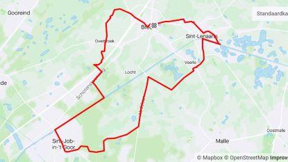 Sportfunctionaris loopt 30 kilometer door Brecht en deelgemeenten om tekeningen in te zamelen voor rusthuisbewoners