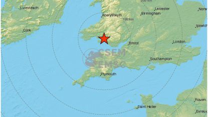 Ook België voelde aardbeving in Wales en Engeland