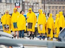 Code geel: warme dag met onweer en stevige windstoten