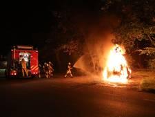Opnieuw autobrand aan Prinses Margrietlaan in Zeist