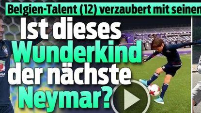 """Ook het buitenland heeft twaalfjarig talent van Anderlecht al ontdekt: """"Heeft België de nieuwe Neymar?"""""""