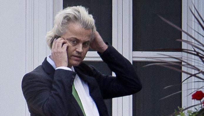 Wilders in 2012, kort voor het verlaten van het Catshuis.