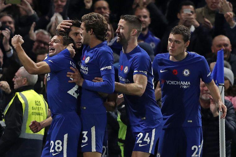 Morata scoorde de 1-0.