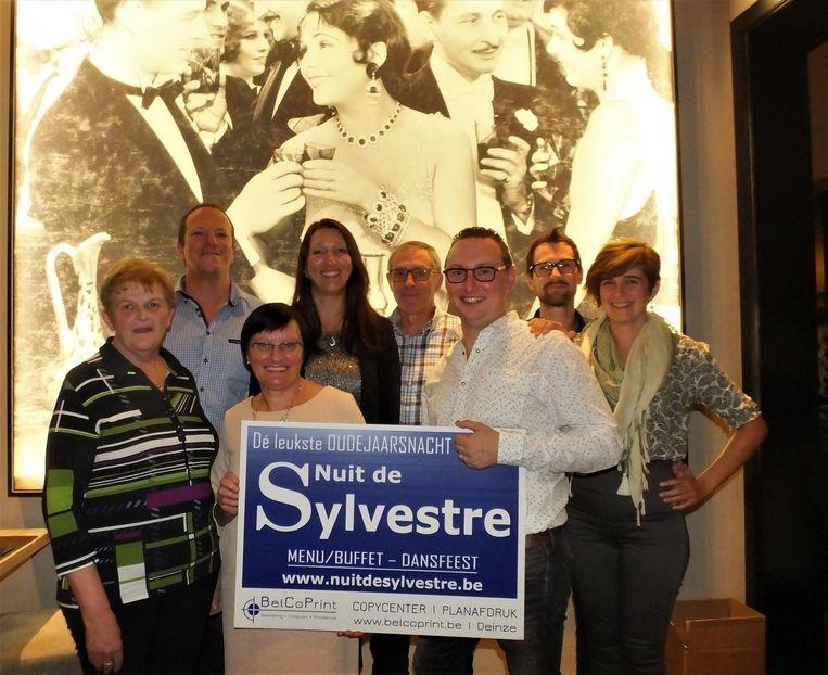 Het team van Nuit De Sylvestre is er helemaal klaar voor.