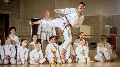 Vorig jaar nog tussen bommen in Syrië, nu is Mohammad (13) Belgisch kampioen karate