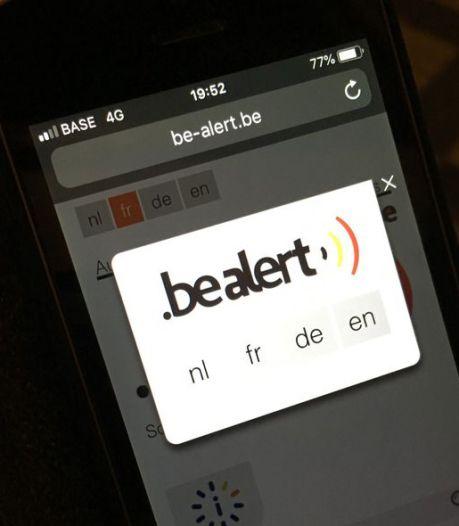 Le système d'alerte par SMS particulièrement sollicité