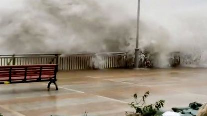 Vrees voor meer dan 100 doden na passage supertyfoon Mangkhut op Filipijnen, Hongkong krijgt volle laag