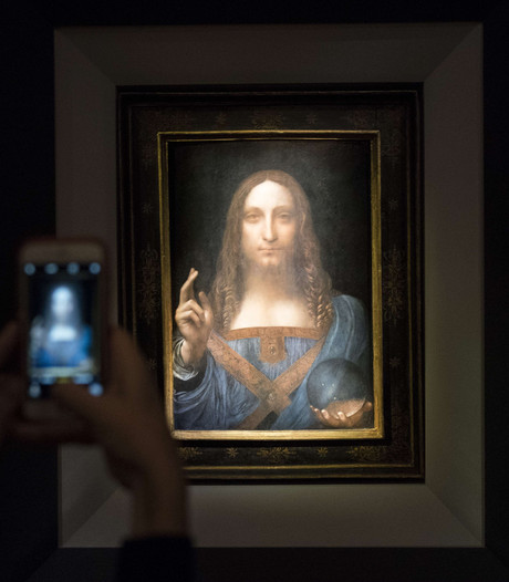 Nooit eerder werd een schilderij voor zoveel geveild als dit van Da Vinci