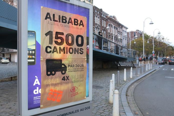 Avec Alibaba, il pourrait y avoir 1.500 camions en plus sur les routes belges.
