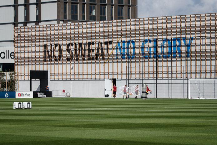 Het trainingscomplex van Club Brugge in Westkapelle, deelgemeente van Knokke-Heist.