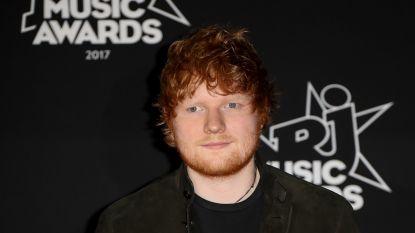 Ed Sheeran weer op het podium