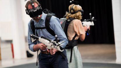 Samen naar de VR-arena wordt het nieuwe paintballen
